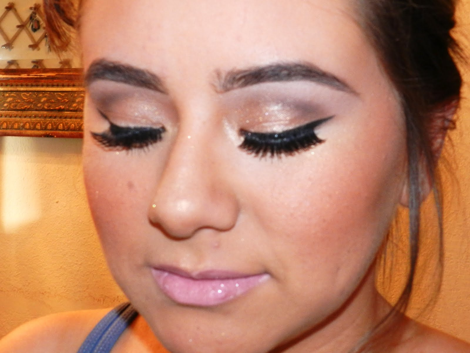 Prom Makeup Loose Updo Prom Hair Spool Me Rotten