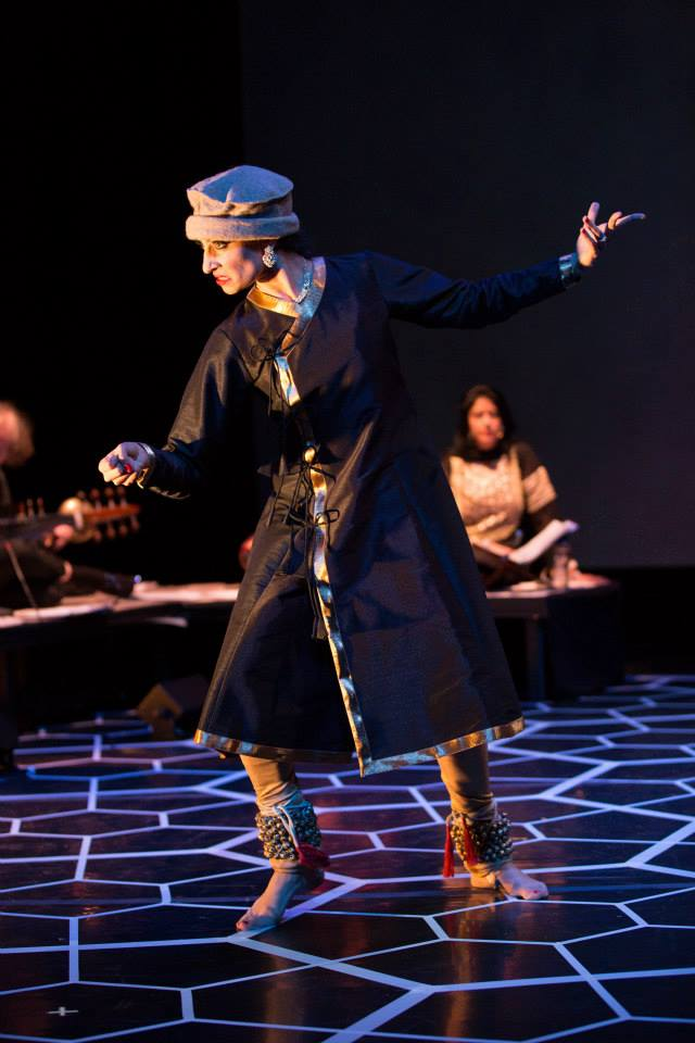 "Character - Ali Quli, as portrayed by Farah Yasmeen Shaikh. Photo by ""The Twentieth Wife"" production."