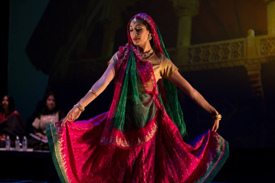 "Character -Empress Jagat Gosini, as portrayed by Farah Yasmeen Shaikh. Photo by ""The Twentieth Wife"" production."