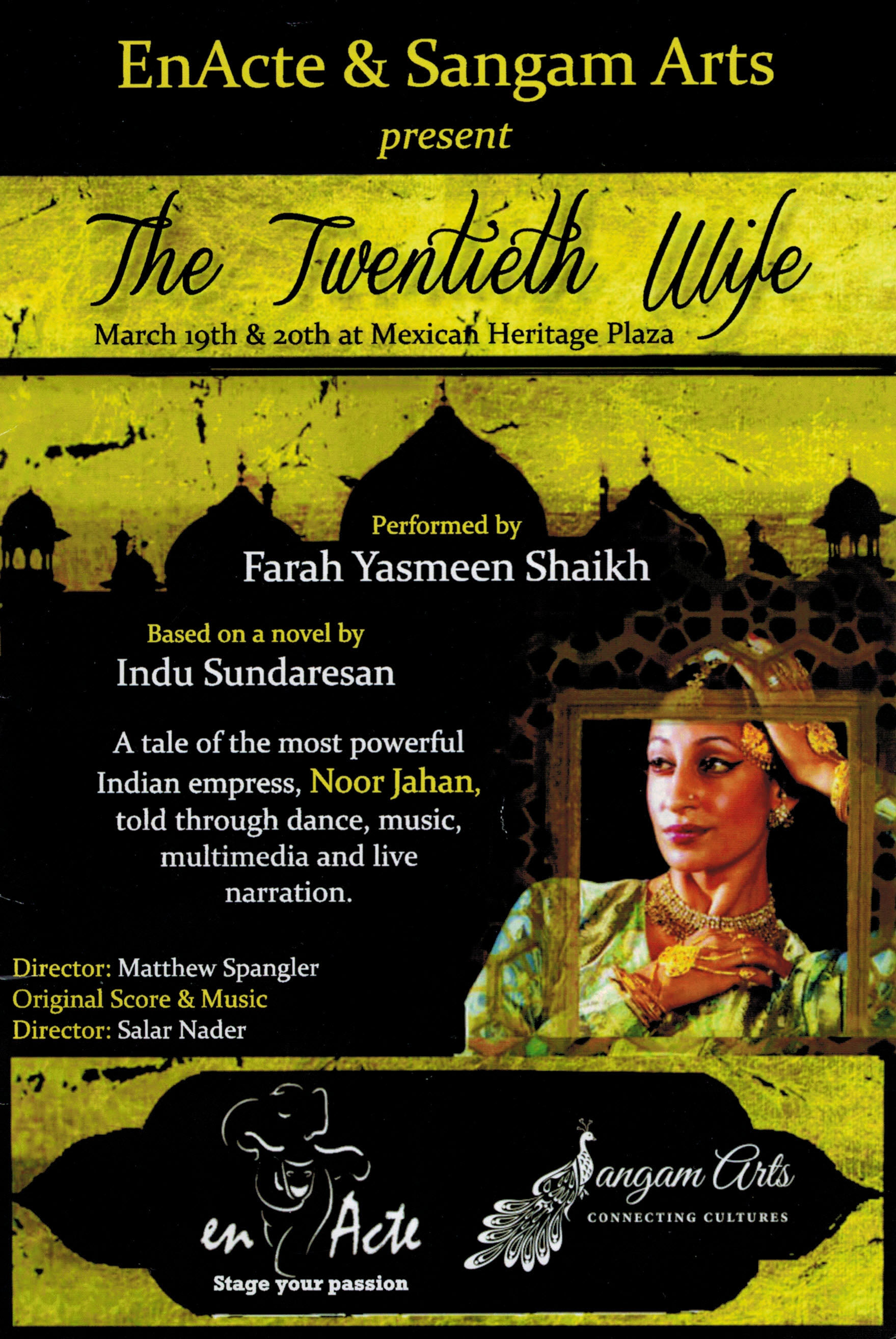 The Twentieth Wife - Program Cover